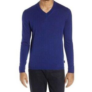 Ted Baker London Sweater Noel V Neck Cashmere Silk